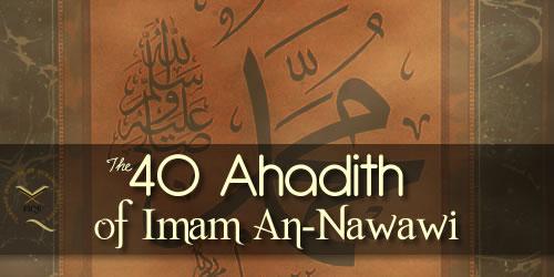 Forty Al-Nawawi's Hadith